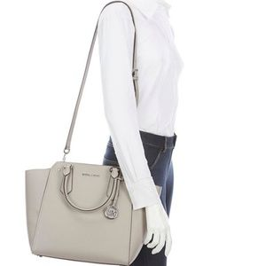 Michael Kors Hayes Large North South Leather Tote